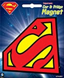 Ata-Boy DC Comics Die-Cut Superman Logo Magnet for Cars, Refrigerators and Lockers