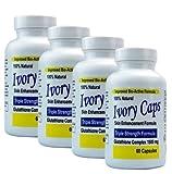 (Pack of 4) - Ivory Caps Skin Whitening Glutathione 240 Pills