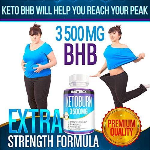 Keto Pills - 3X Potent (2 Pack | 180 Capsules) - Advanced Keto Burn Diet Pills - Boost Energy and Metabolism - Exogenous Keto BHB Supplement for Women and Men (2 Pack) 4