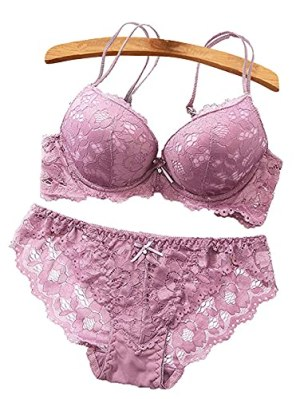 BS SALES Womens Lingerie Set for Honeymoon, Lace Lingerie Set for Honymoon, Bridal, Push-up Bra Panty Set and Swimwear