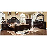 Product review for Syracuse Transitional Style Dark Walnut Finish Cal King Size 6-Piece Bedroom Set
