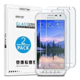 OMOTON Tempered Glass Screen Protector for Galaxy S6 Active,2 Pack