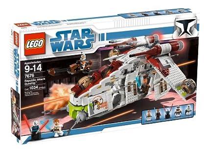 Lego Star Wars Republic Gunship 7676