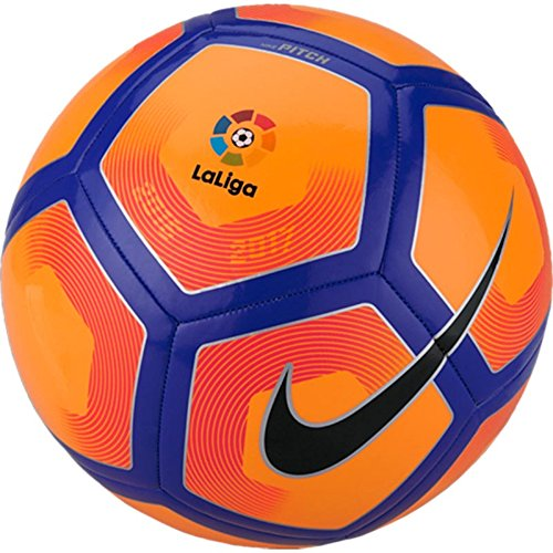 Nike Pitch Liga BBVA Football (Orange)