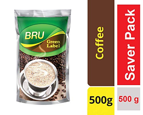 51C5GczI1AL - Bru Green Label Filter Coffee - Ground & Roast, 500 g