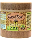 EarthPods Best Bamboo + Bonsai Plant Food – Easy Organic Fertilizer Spikes – 100 Capsules – Enhances Color, Root + Foliar Growth (Also Great for Fiddle Leaf Fig & Mini Palm Tree, No Urea, Ecofriendly)