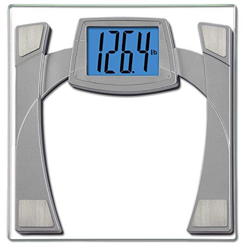 EatSmart Precision MaxView Digital Bathroom Scale w/ 4.5' Backlit LCD Display