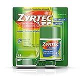 Zyrtec 24 Hour Allergy Relief Tablets, Antihistamine Allergy Medicine with 10 mg Cetirizine HCl, 45 ct