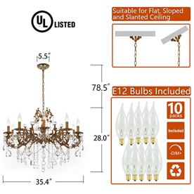 MEEROSEE-Crystal-Chandeliers-Contemporary-Chandelier-Island-Lighting-10-Lights-Candle-Pendant-Ceiling-Light-Fixture-for-Dining-Room-Living-Room-Kitchen-Bedroom-Hallway-Entry-D354