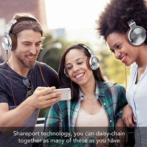Over-Ear-Headphone-Wired-Premium-Stereo-Sound-Headsets-with-50mm-Driver-Foldable-Comfortable-Headphones-with-Protein-Earmuffs-and-Shareport-for-Recording-Monitoring-Podcast-PC-TV-with-Mic-Silver