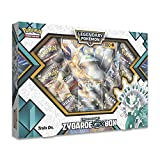 Pokemon TCG: Shiny Zygarde-Gx Premium Gx Box + 4 Booster Pack + A Foil Promo Card + A Oversize Foil Card