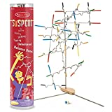 Melissa & Doug Suspend Family Game, Classic Games, Exciting Balancing Game, Develops Hand-Eye Coordination, 12.5' H x 2.8' W x 2.8' L