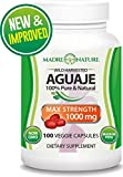Aguaje Fruit Supplement 500mg x 100 Vegan Capsules - The Magical Fruit for Women - Curve Enhancer - Hormone Balancer - Fresh Harvest from Peru ... (1-Pack)