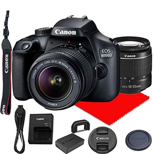 Canon-EOS-4000D-DSLR-Camera-wCanon-EF-S-18-55mm-F35-56-III-Zoom-Lens