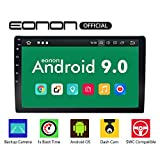 Double Din Car Stereo with Bluetooth 5.0, Android 9.0 Car Radio Stereo Audio Eonon 10.1 inch Double Din, Car GPS Navigation Head Unit,Support WiFi Connection, 1s Fastboot(NO DVD/CD)- GA2178