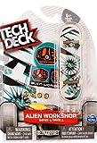 Split Vision Tech Deck Alien Workshop Series 4 Finger Skateboard (Rare) 96mm Toy