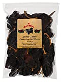 Dried Ancho Chiles Peppers El Molcajete Brand 8 oz Resealable Bag - Mexican Recipes, Chilis, Tamales, Salsa, Chili, Meats, Soups, Mole, Stews & BBQ