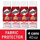 Scotchgard Fabric & Upholstery Protector, 4 Cans/10 Ounces per Can (40 Ounces Total)