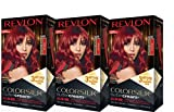 Revlon Colorsilk Buttercream Hair Dye, Vivid Intense Red, 3 Count