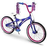 Huffy Kids Bike for Girls, Go Girl 20 inch Pink & Purple