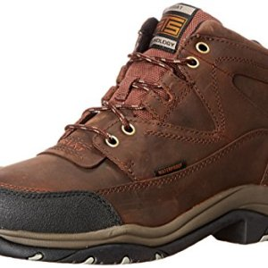 Ariat Terrain Waterproof Hiking Boot – Men's Leather Waterproof Outdoor Hiking Boots