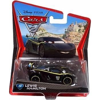 Amazon.com: Disney/Pixar Cars 2 Movie Lewis Hamilton #24 1 ...