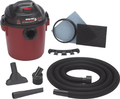 Shop-Vac 58503 Bulldog 2 HP Wet/Dry Vacuum - 4 Gallon Capacity