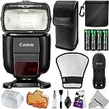 Canon Speedlite 430EX III-RT Flash w/ Essential Photo Bundle