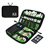 MICRORANGE Travel Cable Organizer Bags Electronic Accessories Storage Handy Carry Bag