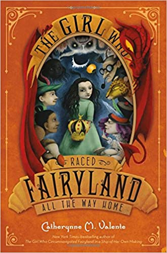 Image result for The Girl Who Raced Fairyland All the Way Home