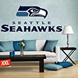 Full color Seattle Seahawks decal, Seattle Seahawks decal, Seattle Seahawks logo decal, Seattle Seahawks, Seahawks decal, Seahawks decal, Seahawks sticker, Seahawks large decal pf20 (9' x 22')