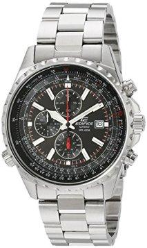 """Casio Men's EF527D-1AV """"Edifice"""" Stainless Steel Multi-Function Watch"""