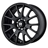 Motegi Racing MR118 Matte Black Wheel (18x8/5x120mm, +32mm offset) by Motegi Racing