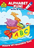 Alphabet Fun Write and Reuse Workbook Ages 4-6