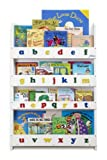 Product review for The Original Wooden Front-Facing Kids Bookcase and Book Display with 3D Alphabet