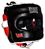 Ring to Cage Deluxe Full Face GelTech Sparring Headgear for Boxing, Muay Thai, MMA, Kickboxing (Regular (Also fits Small Size))