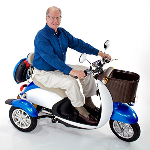 EW-11 Sport Scooter Euro Style Design Blue