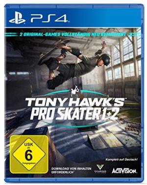 TONY HAWK´S Pro Skater 1+2 Standard Edition – [PlayStation 4]