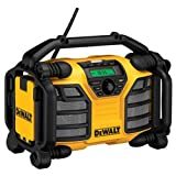 DEWALT 20V MAX/12V Jobsite Radio and Battery Charger (DCR015)