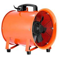 VEVOR-Utility-Blower-Fan-12-Inch-Portable-Ventilator-High-Velocity-Utility-Blower-Mighty-Mini-Low-Noise-with-5M-Duct-Hose-12-Inch-with-5M-Duct-Hose