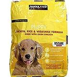 Kirkland Signature Super Premium Puppy Dog Food, Chicken, Rice & Vegetable Formula, 20 lb
