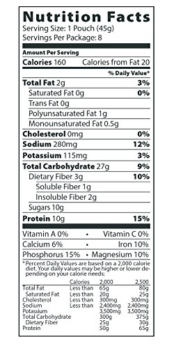 Better Oats Steel Cut Maple & Brown Sugar High Protein Instant Oatmeal with Flax Seeds, 12.7 Ounce (Pack of 6) 5