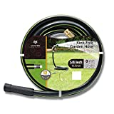 Worth Garden 5/8' x 75' (75 FEET) Kink Free Watering Garden Hose, 12 Years Warranty - Best Hose for Household & Professional USE