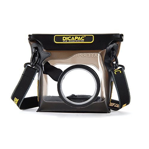 Dicapac USA Inc. WP-S3 Waterproof Case for Hybrid and Mirrorless Cameras (Dark Brown)