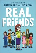 Cover art for REAL FRIENDS by Shannon Hale and LeUyen Pham