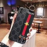 iPhone Xs iPhone X Case, New Elegant Luxury Classic Style with Phone Holder Lanyard Case Cover for iPhone Xs iPhone X Fast Deliver Guarantee Fulfilled by Amazon