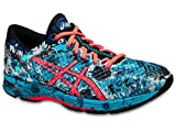ASICS Men's GEL Noosa Tri 11 Running Shoe, Island Blue/Flash Coral/Black, 9 M US