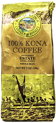Royal Kona Whole Bean Coffee, Estate Extra Fancy, Medium Roast, 0.44 Pound
