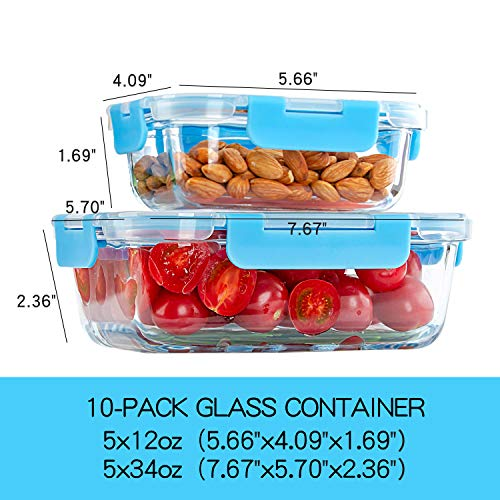 10-Pack-Glass-Meal-Prep-Containers-Food-Storage-Containers-with-Airtight-Lids-for-Kitchen-Home-Use-Glass-Lunch-Containers