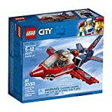 LEGO City Airshow Jet 60177 Building Kit (87 Piece)